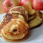grain free apple pancake rings