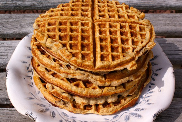 Raw Food Recipe Waffles