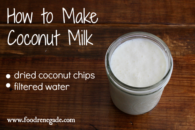 how make coconut milk homemade coconut milk