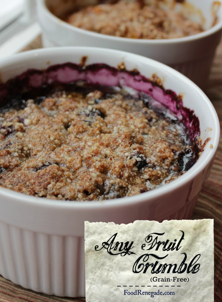 Any Fruit Crumble (Grain-Free)