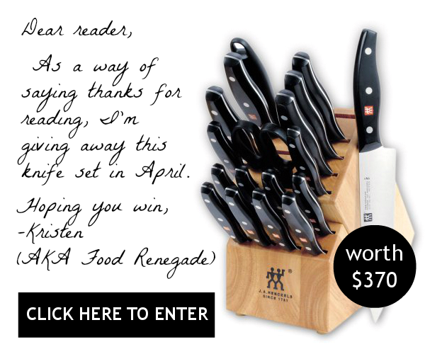Food Renegade April Giveaway