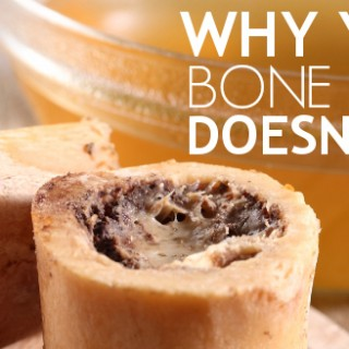 Why Your Bone Broth Doesn't Gel