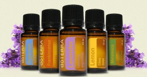 essential oils group shot