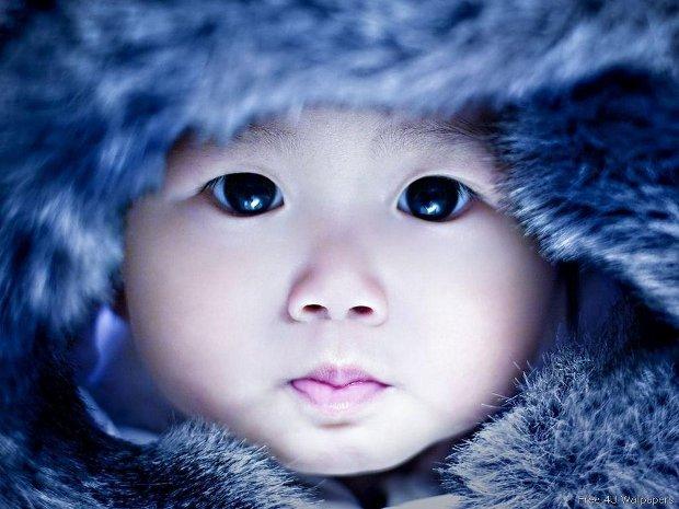 native baby face