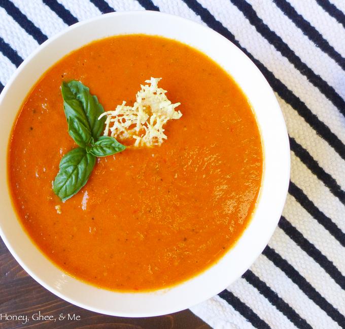 crock pot tomato soup paleo